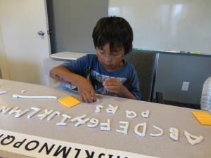 alphabet incomplete
